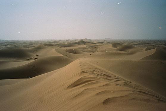 desert that looks like dry skin