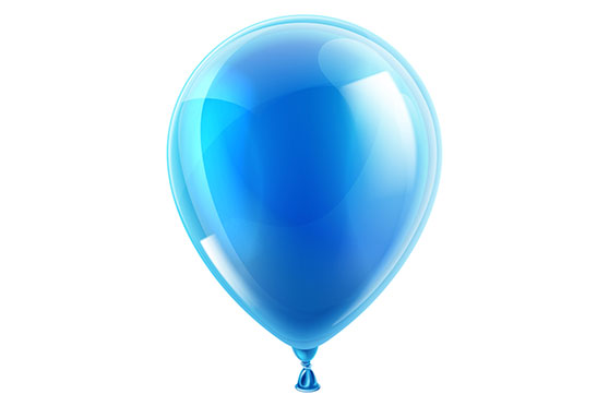baloon as symbol of pregnant woman