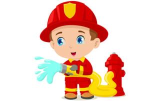 fireman putting out heartburn