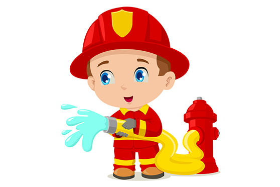 fireman putting out heartburn